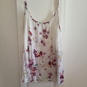 Oneil floral strappy top